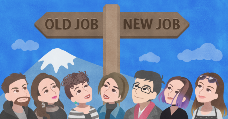 Switching jobs in japan