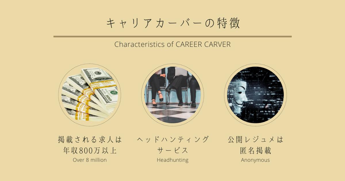 キャリアカーバーの特徴