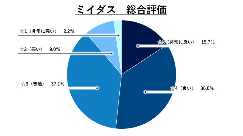 ミイダス総合評価グラフ